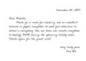how to write effective thank you notes professional