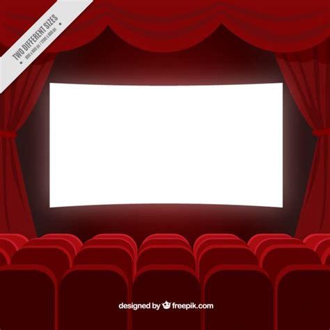 fondo cinema fondo de sala de cine en color rojo descargar vectores gratis