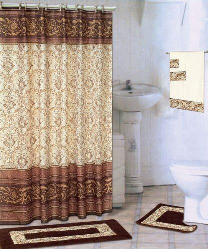 Bathroom Shower Curtains Sets Awesome Bathroom Sets To Brighten Your Bathroom Decor