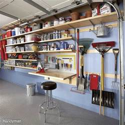 Garage Organization Ideas Uk Garage Wall Storage The Family Handyman