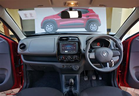 kwid renault interior renault kwid official review team bhp