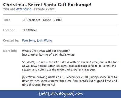 secret santa invite new calendar template site