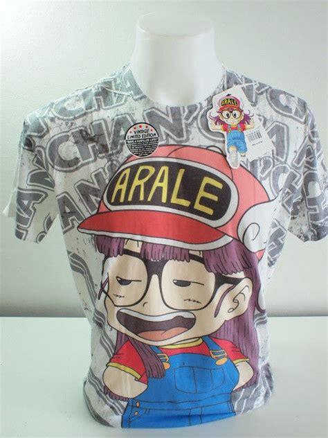 Tshirt Arale Dr Slump arale dr slump japanese t shirt limited edition