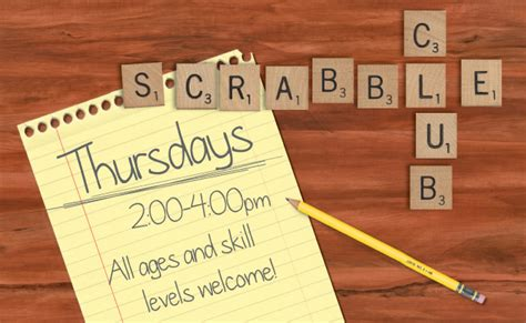 scrabble clubs scrabble club marion library