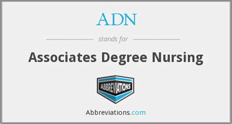Associates In Nursing - what is the abbreviation for associates degree nursing