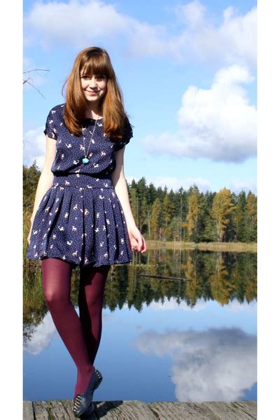 Sale A Licious 25 Everything At Fred Flare by Purple Fred Flare Tights Blue Secondhand Shoes Blue
