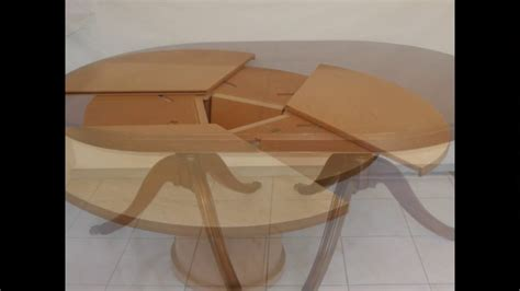 primmer expanding table youtube awesome expandable round dining table youtube