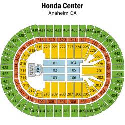 Honda Center Seat Map Honda Center Seating Chart Car Interior Design