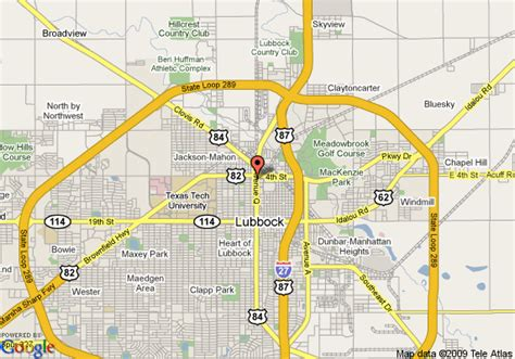 texas downtown map map of radisson hotel lubbock downtown lubbock