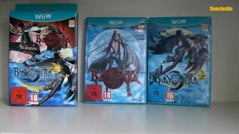 Special Edition 2 bayonetta 2 special edition wii u unboxing