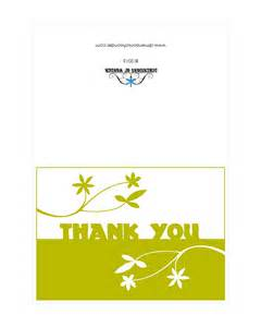 free printable thank you cards matching envelopes with flowers