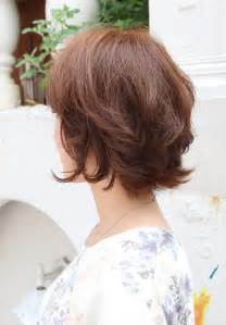back view wavy bob for thick hair 2015 55 super hot short hairstyles 2017 layers cool colors