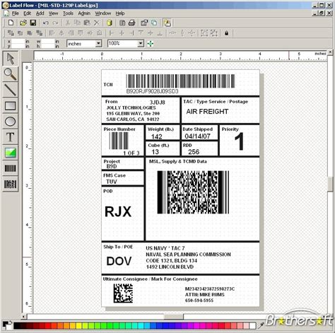 free label maker template free label flow label maker software label