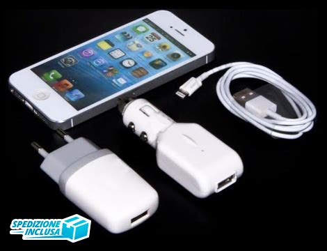 Monza 3in1 offerta shopping kit charger 3in1 groupalia