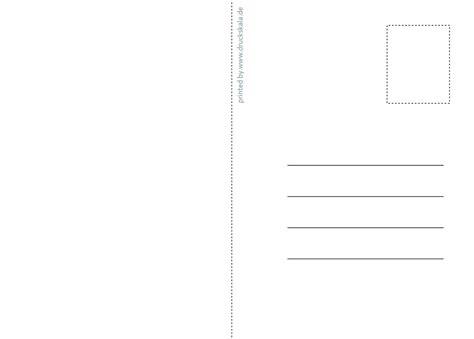 Word Vorlage Din A6 Vorlage F 252 R Postkarte Din A6 R 252 Ckseite Vorlage Einer Postk Flickr