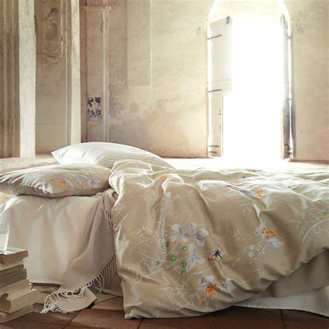 Brown Quilt Covers by Brown Floral Duvet Covers Bedding Schlossberg Beige
