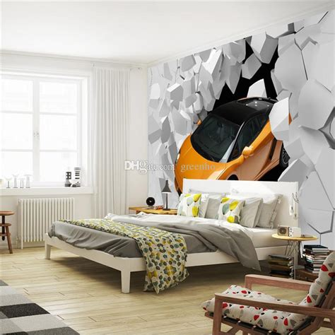 car wallpaper for bedroom 3d sports car photo wallpaper giant wall mural unique