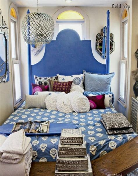 66 Mysterious Moroccan Bedroom Designs Digsdigs Moroccan Bedroom Decorating Ideas 2