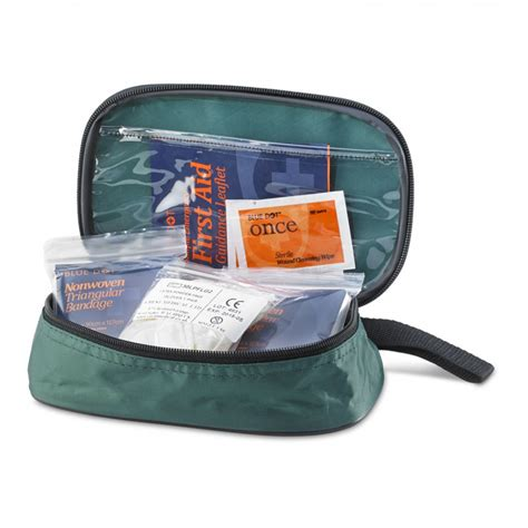 Travelling Pouch 4 In 1 travelling pouch aid kits for 1 person with guidance
