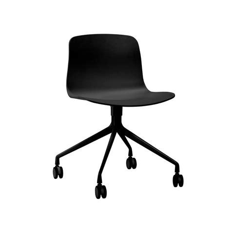 sedie da scrivania design hay sedia da scrivania about a chair aac14 nera