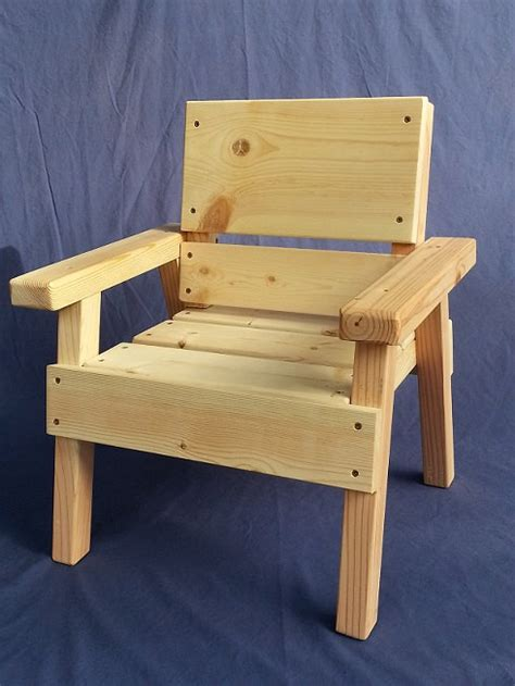 Diy Wood Chair Projects by Diy Project Solid Wood Chair Toddler Boy Or
