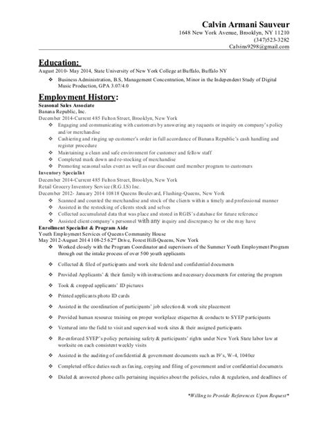 Resume Sles Experienced Resume Of Sales Associate Experience