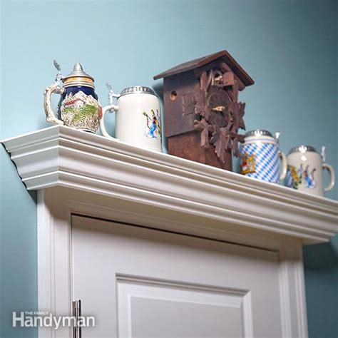 the door display shelf plans the family handyman