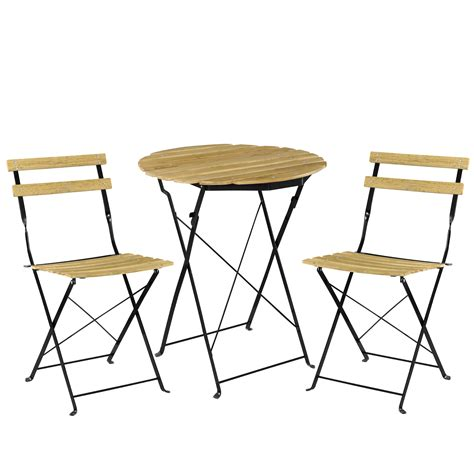tisch stuhl casa pro bistro set table 2 chairs dining area seating