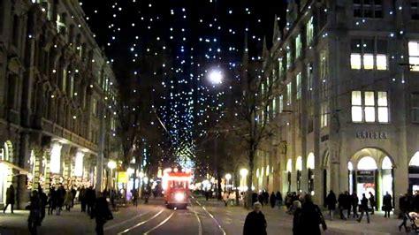 bahnhofstrasse beleuchtung 2016 neue weihnachtsbeleuchtung z 252 rich und samichlaus in der
