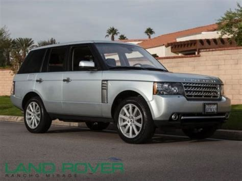 how it works cars 2011 land rover range rover sport free book repair manuals sell used used 2011 range rover supercharged zermat silver audio system upgrade vap in rancho