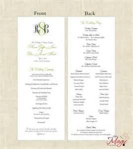 wedding church programs 25 best wedding programs simple ideas on wedding program inspiration wedding