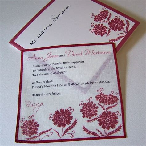 Handmade Invitations Wedding - 17 best ideas about wedding invitations on
