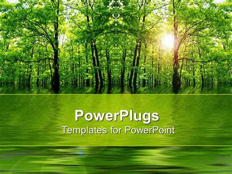 powerpoint template natural beauty 30132