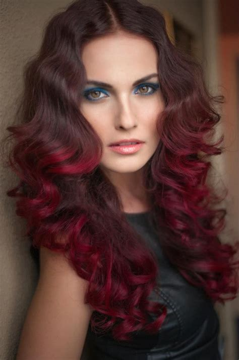 medium burgundy brown hair color in 2016 amazing photo