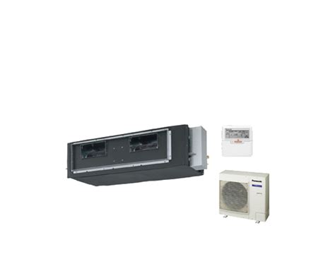 Outdoor Ac Panasonic 1 2pk ac ducting panasonic standard 2pk cs d24dd2h