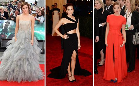 fashion trends celebrity style outfit ideas glamour the smart talented classy and oh so chic emma watson is