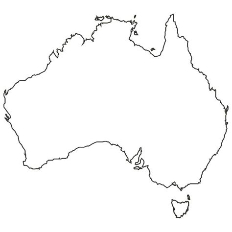 australia map outline best photos of australia outline map australia map