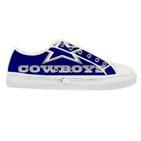 boat canvas dallas dallas cowboys nfl custom canvas shoes men nfl by