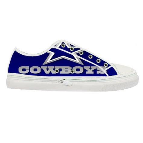 boat canvas dallas dallas cowboys nfl custom canvas shoes men nfl by