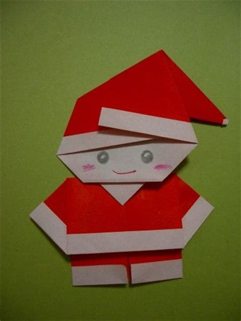 Make Origami Santa Claus - santa origamei diy so your craft