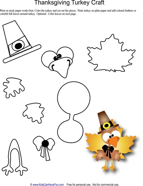 printable thanksgiving crafts thanksgiving turkey craft jcprd pinterest coloring