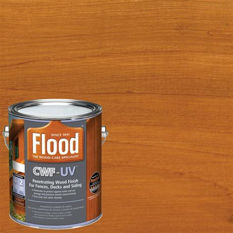 flood  gal cedar tone cwf uv oil based exterior wood