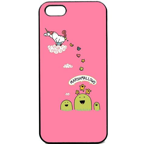 Unicorn Y0701 Iphone 5 5s iphone 5 5s unicorn marshmallows phone