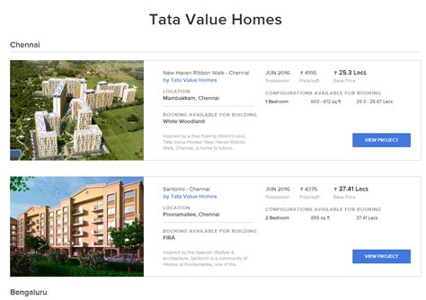 book your home today with tata value homes versed