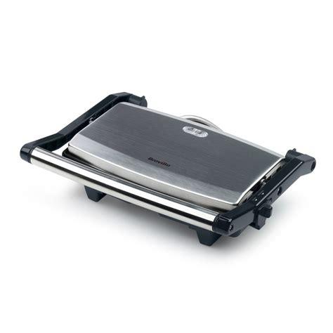 Brushed Stainless Steel Toaster 2 Slice 2 Slice Sandwich Toaster Amp Panini Maker Vst049 Breville