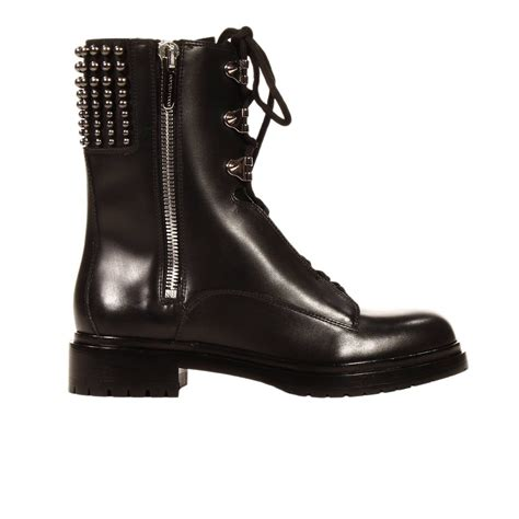 14 Sergio Shoes by Sergio Boots Biker Leather With Details In Black Lyst
