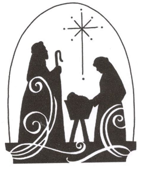 printable nativity stencils christmas jesus nativity scene cross stitch pattern