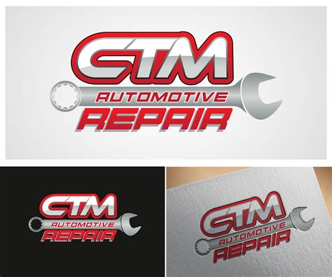 Auto Repair Logo Ideas the gallery for gt mechanic logo design