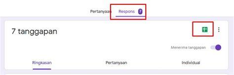 tips  melihat google form   dikirim panduan