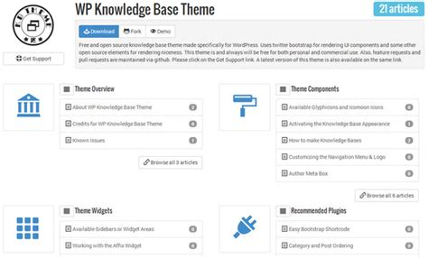 knowledge base design template collection of free bootstrap templates and themes